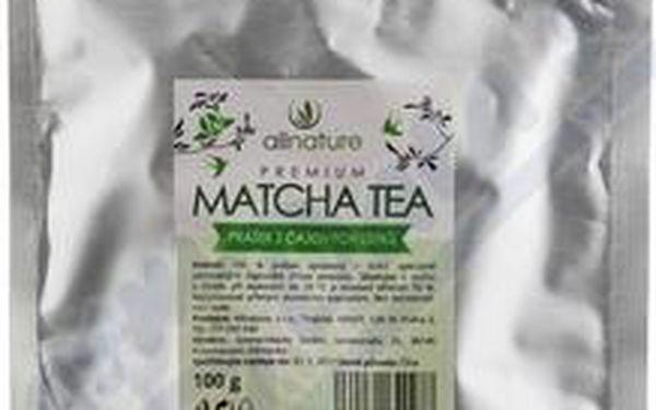 Allnature Premium Matcha Tea 100 g pro lepší spalování