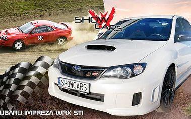 Rallye Challenge v Subaru Impreza WRX STI pro 1 osobu. Staň se na 20 minut řidičem rallye káry!