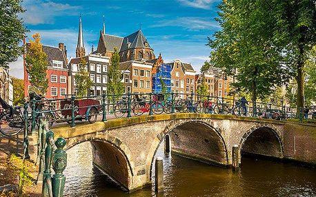3denní zájezd do Amsterdamu s holandskými sýry a dřeváky pro 1 osobu