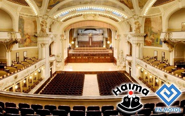 Humanitární koncert v podání Dvořák Symphony Orchestra Prague v Obecním domě v Praze