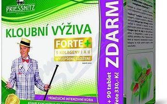 Priessnitz Forte s Kolagenem 270 tablet - Aktivní výživa pro pohybový aparát