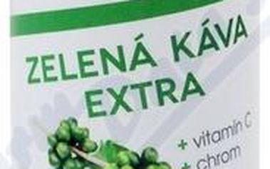Vieste Zelená káva extra s vitaminem C s chromem 60 kapslí