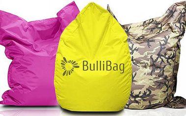 Kvalitní sedací pytle značky BulliBag s doručením zdarma