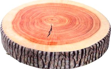 Podsedák v podobě kusu dřeva - dodání do 2 dnů
