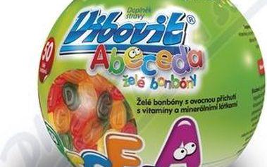 Vibovit Abeceda 50 želé bonbónů - Vitamíny pro všechny aktivní děti