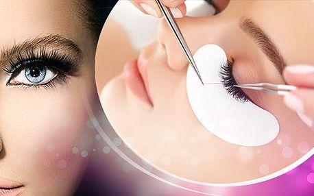 Permanentní prodloužení nebo doplnění řas v salónu Beauty Line! Za hodinu budete mít svůdně dlouhé řasy!