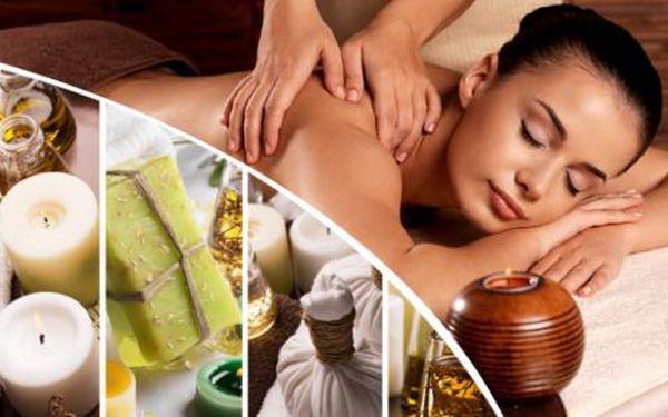 60minutová masáž dle výběru v centru Brna