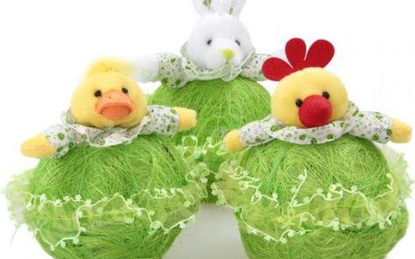 Velikonoční košíky na sladkosti