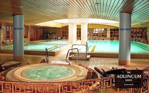 Pobyt pro dva s neomezeným termálním wellness přímo v hotelu Aquincum*****