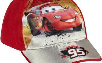 Disney Brand Chlapecká kšiltovka Cars - červená, 52 cm