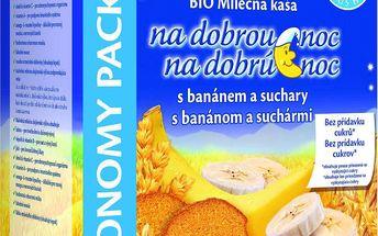 HiPP Kaše na dobrou noc BIO banánová se suchary 500 g