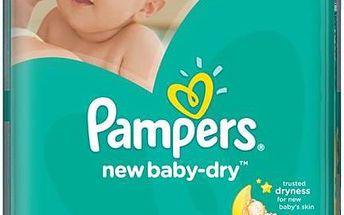 Plenky Pampers New Baby-dry Mini vel. 2, 228ks