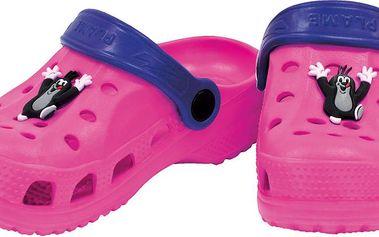 Bino Dívčí sandály Krteček - růžové, EUR 29
