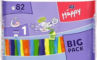 Bella Happy New born 82 ks - jednorázové pleny