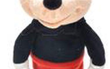 Teddies Mickey Mouse plyš, Černá
