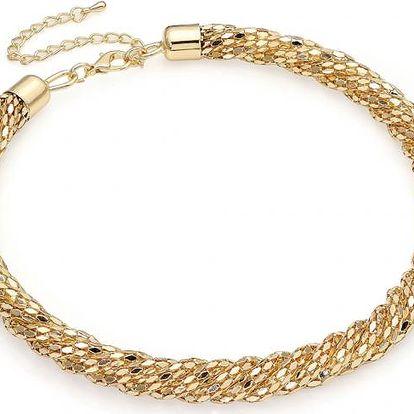 Náhrdelník ve zlaté barvě Barbra 29908