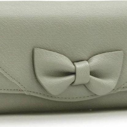 Dámská peněženka Lussy 1056A šedá