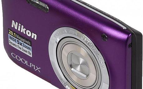 Kompaktní fotoaparát Nikon Coolpix S2900 purple