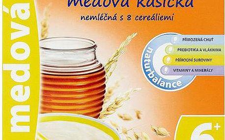 Sunarka Medová kašička nemléčná s 8 cereáliemi 180 g