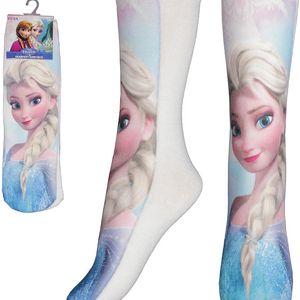 E plus M Dívčí ponožky Frozen, 23/26 , Bílá
