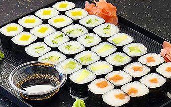 Fantastické sushi v Anawa Running Sushi