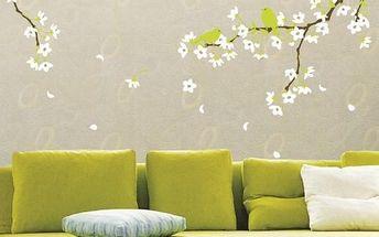 Samolepka Ambiance Pear Tree With Flowers