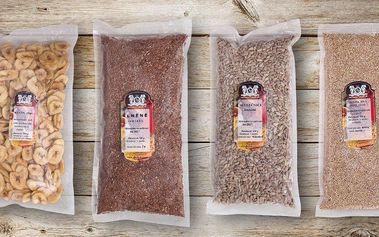 Mixy zdravých semínek: chia i další