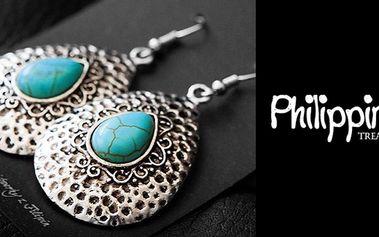 Filipínské šperky a šátky v hodnotě 500 Kč