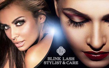 Prodloužení nebo doplnění kvalitních syntetických řas Blink Lashes! Krásné, přirozené a vysoce odolné řasy.