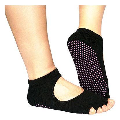 Protiskluzové ponožky na jógu - dodání do 2 dnů
