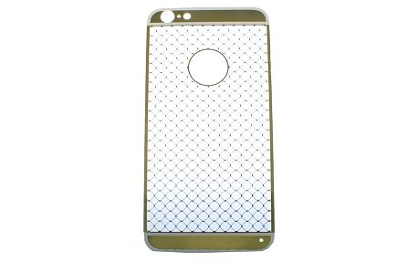 Kryt na mobilní telefon Apple iPhone 6 Plus gumový zlatý vzor