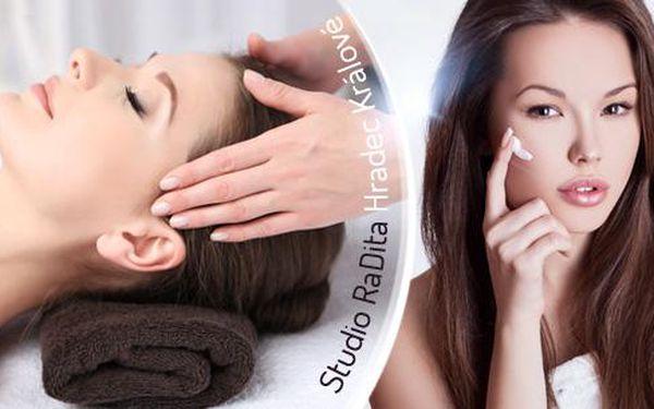 60min. kompletní kosmetické ošetření ve studiích RaDita! Čištění, peeling, maska, masáž a úprava i barvení obočí!