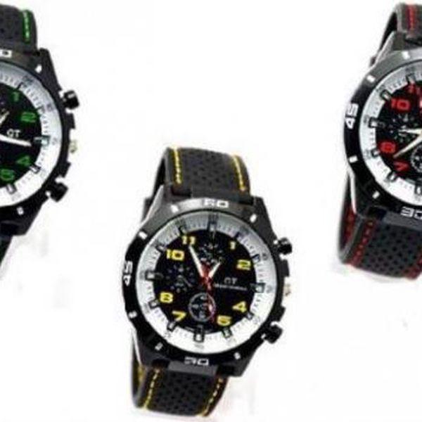Luxusní sportovní hodinky GT