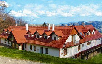 3 až 6denní pobyt s wellness a polopenzí v chatě Jana v Bílých Karpatech pro dva