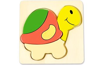 ANDREU Toys Vkládačka želvička