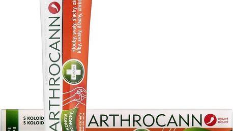 Arthrocann gel z konopí na klouby, svaly, šlachy 75 ml