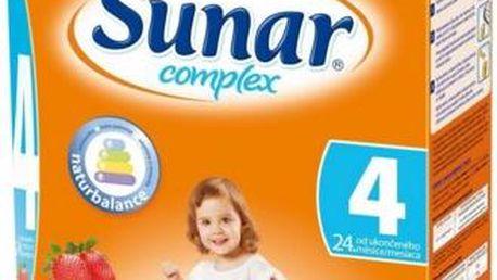Sunar complex 4 jahoda 600 g od ukončeného 24. měsíce