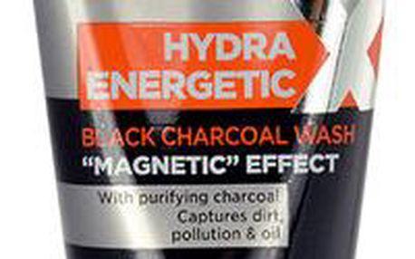 L´Oréal Paris Men Expert Hydra Energetic Black Charcoal Wash Pánská pleťová kosmetika 150ml pro muže Proti nečistotám