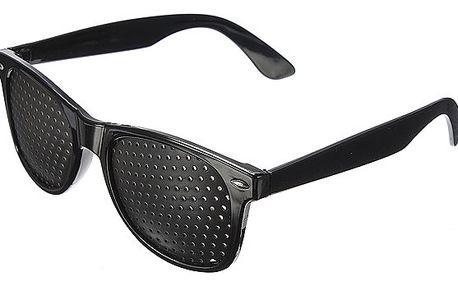 Děrované brýle pro možné zlepšení zraku - dodání do 2 dnů