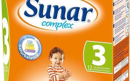 Sunar Complex 3 600 g od ukončeného 12. měsíce
