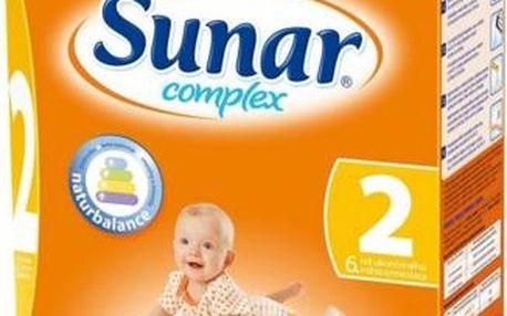 Sunar complex 2 600 g pro výživu kojenců od ukončeného 6. měsíce věku