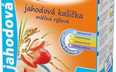 Sunar jahodová kašička mléčná 225g