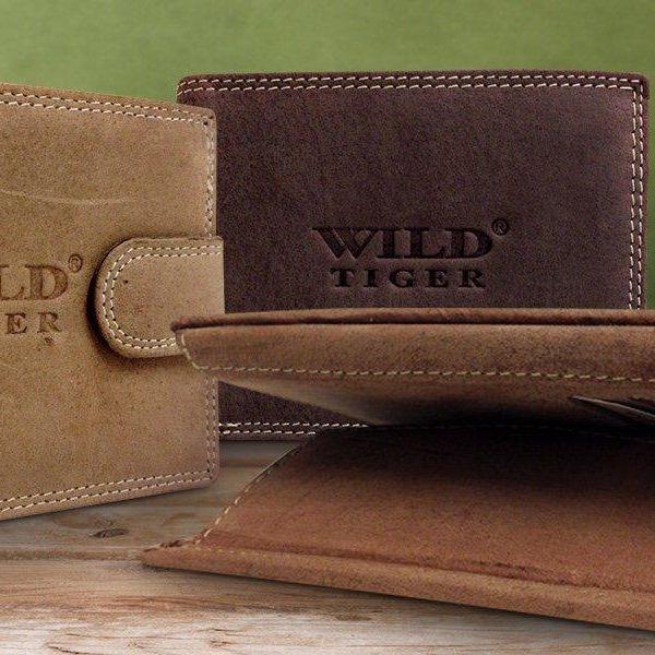 Pánské peněženky z pravé kůže