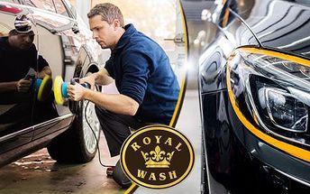 Voskování + ruční mytí karoserie vozu včetně odstranění hmyzu, mytí disků i pneu a dekontaminace laku v Brně!