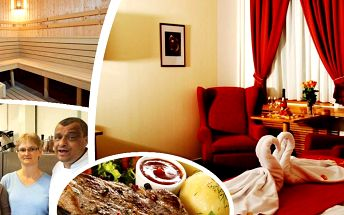 Pobyt ve 4* hotelu Slovan v Jeseníkách pro dva. Zážitek v podobě až 13chodového degustačního menu!