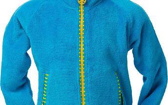 O'Style Dětská fleecová mikina se stojáčkem - modrá, 104 cm