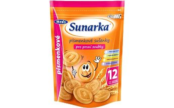 Sunarka dětské sušenky písmenkové 2x150g