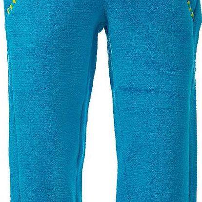 O'Style Dětské fleecové kalhoty - neon blue, 104 cm