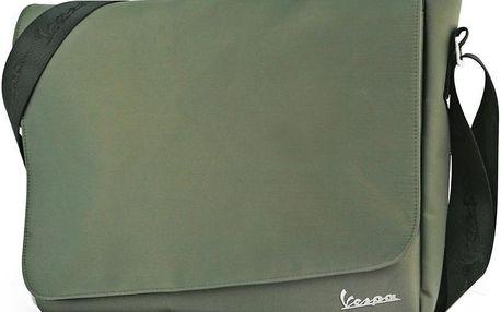 Taška přes rameno Vespa Messenger Green - doprava zdarma!