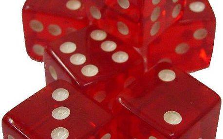 Kasínové hrací kostky 6 ks